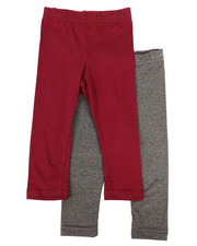 Sizes 2T-4T - Toddler - 2 Pack Solid Leggings (2T-4T)-2272863