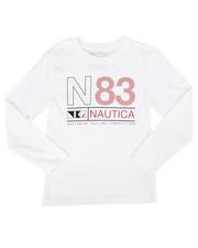 Nautica - Long Sleeve Graphic Tee (8-20)-2273265