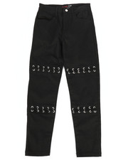 Bottoms - Twill Pants w/ Lacing Detail (7-16)-2275011