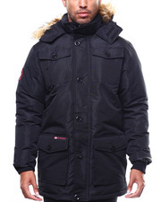 Heavy Coats - CANADA WEATHER Faux Fur Vestee Heavy Weight Parka-2275085