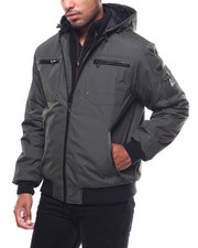 Mens-Fall - Amped Fashion Motorcycle Jacket-2274990