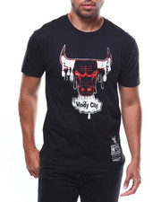 Mitchell & Ness - CHICAGO BULLS Dripped SS Tee-2274456