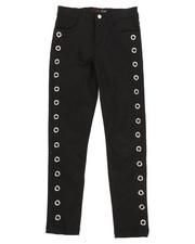 Bottoms - Twill Pants w/ Grommet Detail (7-16)-2275164