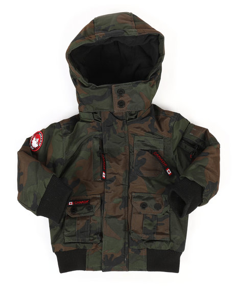 Arcade Styles - Canada Weather Gear Bomber Jacket (2T-4T)