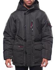 Heavy Coats - CANADA WEATHER DOUBLE HOOD CARGO POCKET PARKA-2275042