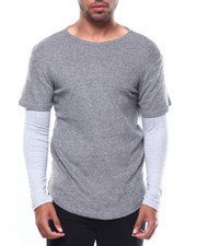Shirts - Double Layer LS Tee-2274437