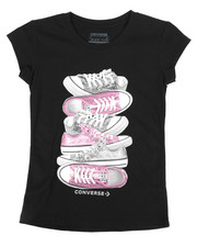 Tops - Stacked Sneaker Tee (7-16)-2274323