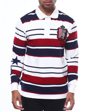 Heritage America - STRIPE L/S RUGBY-2274848