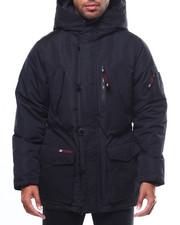 Heavy Coats - CANADA WEATHER DOUBLE HOOD CARGO POCKET PARKA-2275080