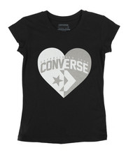 Tops - Split Heart Tee (7-16)-2275115