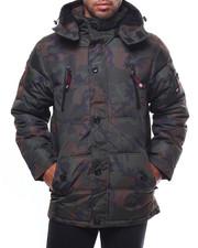 Heavy Coats - CANADA WEATHER FAUX FUR BUBBLE HEAVY ALT DOWN JACKET-2275100