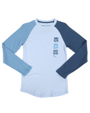 Nautica - Long Sleeve Raglan Tee (8-20)-2273947