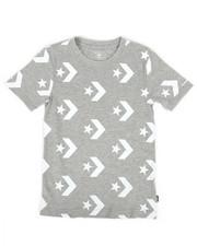 Boys - Star Chevron Print Tee (8-20)-2273844