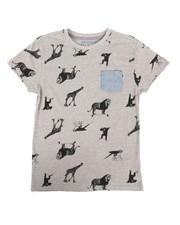 Boys - Zoo Animals Tee (8-20)-2274038