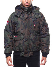 Men - CANADA WEATHER Bomber Parker w Hood-2275143