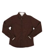 Boys - Floral Print Woven Shirt (8-20)-2273952