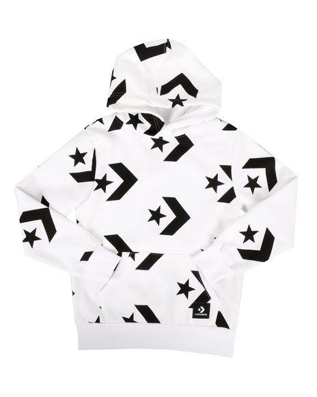 Converse - Star Chevron Print Pullover Hoodie (8-20)