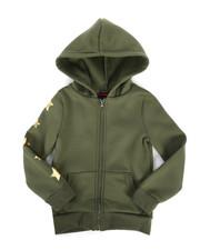Sizes 4-6x - Kids - Fleece Hoodie w/ Foil Art (4-6X)-2274537