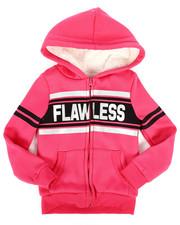 La Galleria - Sherpa Lined Fleece Hoodie (4-6X)-2274357