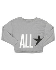 Tops - Oversized All Star Crop Top (7-16)-2274328