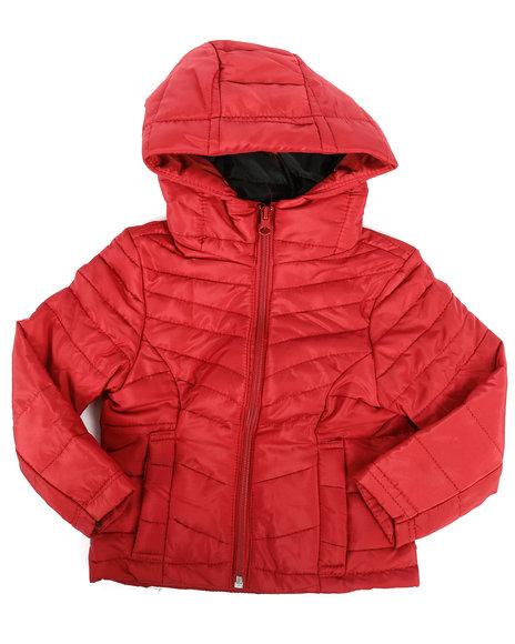 Delia's Girl - Packable Jacket (2T-4T)