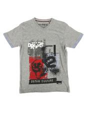 Boys - Denim Culture Tee (8-20)-2273972