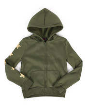 Sizes 7-20 - Big Kids - Fleece Hoodie w/ Foil Art (7-16)-2274451