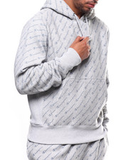 Athleisure for Men - REVERSE WEAVE ALL OVER PRINT HOODIE-2275578