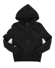 Girls - Fleece Hoodie w/ Foil Art (7-16)-2274526