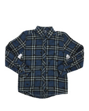 Boys - Skull Woven Shirt (8-20)-2274159