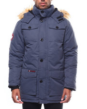Men - CANADA WEATHER Faux Fur Vestee Heavy Weight Parka-2275129