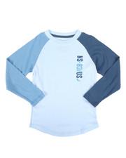 Boys - Long Sleeve Raglan Tee (4-7)-2273942
