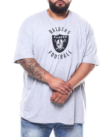 NBA, MLB, NFL Gear - Raiders HT Grey Tee (B&T)