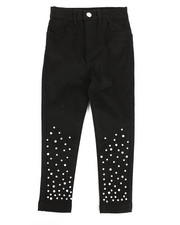 Sizes 2T-4T - Toddler - Twill Pants w/ Pearl Detail (2T-4T)-2275575