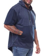 Hoodies - S/S Fish Tail Bottom Pullover Hoodie (B&T)-2275249