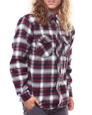 Mens-Fall - Brawny Plaid Shirt-2276258