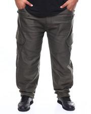 Akademiks - Sateen Moto Cargo Jean (B&T)-2276335