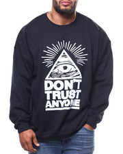 Pullover Sweatshirts - Dont Trust Anyone L/S Crew Neck (B&T)-2275319