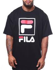 Big & Tall Faves - S/S TEE W/SQUARE FOX FILA (B&T)-2275302