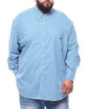 Chaps - Stretch Easy Care Stretch L/S Sport Shirt (B&T)-2273522