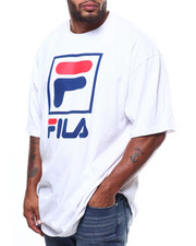 Men - S/S TEE W/SQUARE FOX FILA(B&T)-2275297