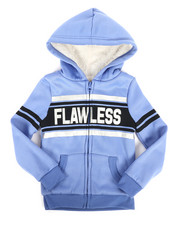 Girls - Sherpa Lined Fleece Hoodie (4-6X)-2274347