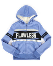 Girls - Sherpa Lined Fleece Hoodie (7-16)-2274352