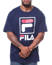 Men - S/S TEE W/SQUARE FOX FILA  (B&T)-2275291