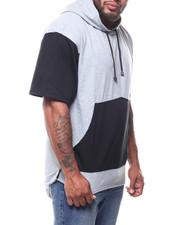 Hoodies - S/S Fish Tail Bottom Pullover Hoodie (B&T)-2275258