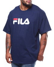 Men - S/S TEE STRAIGHT PRINT LOGO (B&T)-2275285