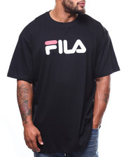 Men - S/S TEE STRAIGHT PRINT LOGO (B&T)-2275279