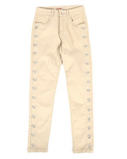 Girls - Twill Pants w/ Grommet Detail (7-16)-2275475