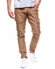 Jeans & Pants - BERGEN SATEEN MOTO CARGO PANT-2274206