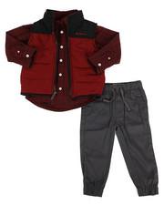Ben Sherman - 3 Piece Vest Set (2T-4T)-2275990